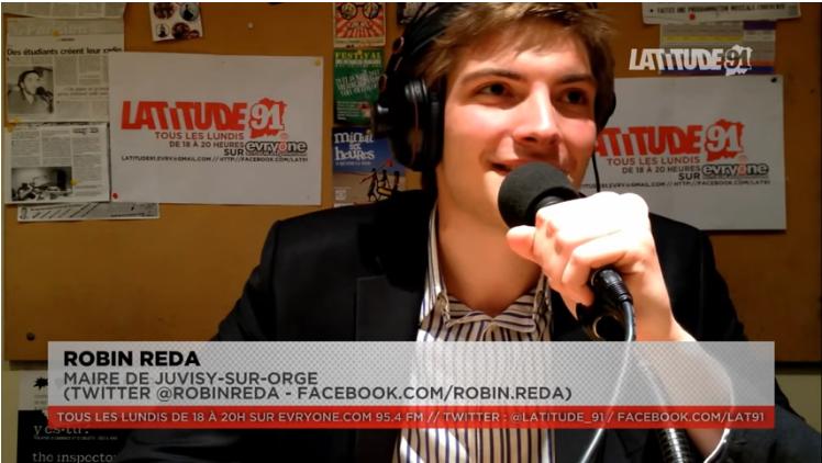 [Archive Lat91] ITW VIDEO de Robin Reda (maire de Juvisy)