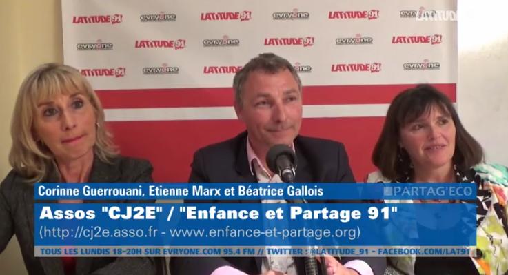 """[Archive Lat91] Partag'Eco """"CJ2E"""" et """"Enfance et Partage 91"""""""