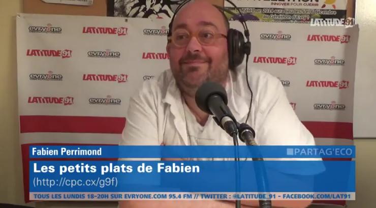"""[Archive Lat91] PartagEco : Fabien Perrimond """"les petits plats de Fabien"""""""