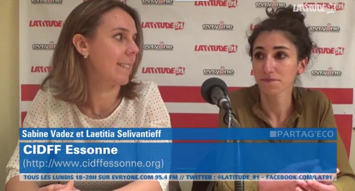 "[Archive Lat91] Partag'Eco : Sabine & Laetitia ""CIDFF Essonne"""