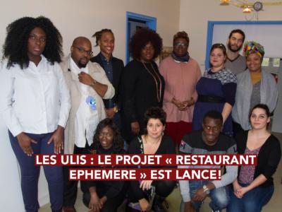 Les Ulis : Le projet « Restaurant éphémère » est lancé !