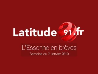L'ESSONNE EN BRÈVES – Semaine du 7 janvier 2019