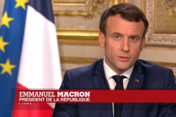 Macron Discours. Credit : Vidéo Youtube France 24